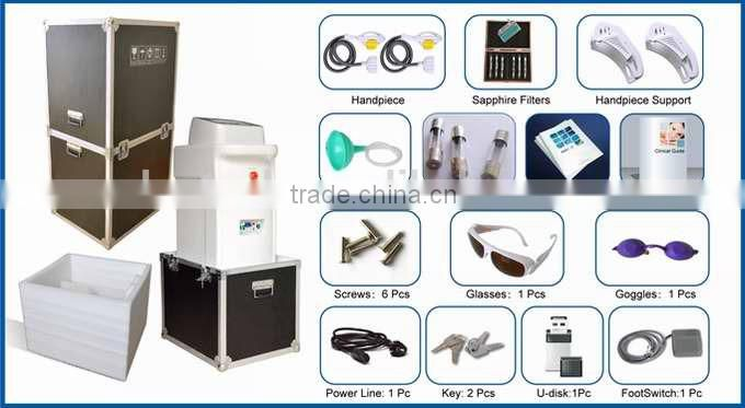 Powerful IPL SHR beauty salon equipment for new available