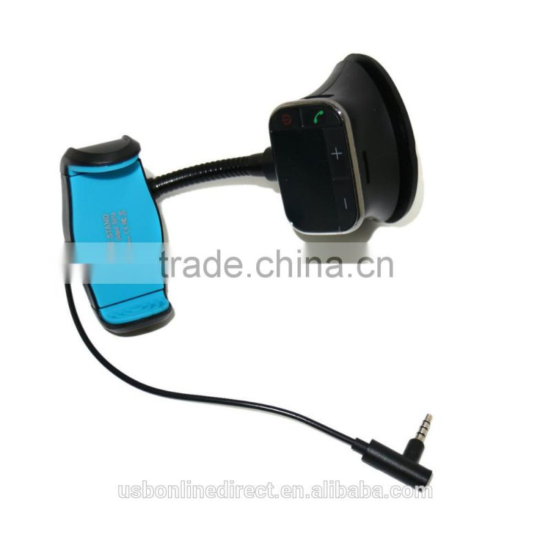 Hot selling FM Transmitter Car Kit car Holder Charger Handsfree MP3 Player for iPhone 6 Samsung