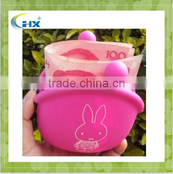 MA-881 2013 Fashionable Silicone Rubber Coin Purse For Women&Girls
