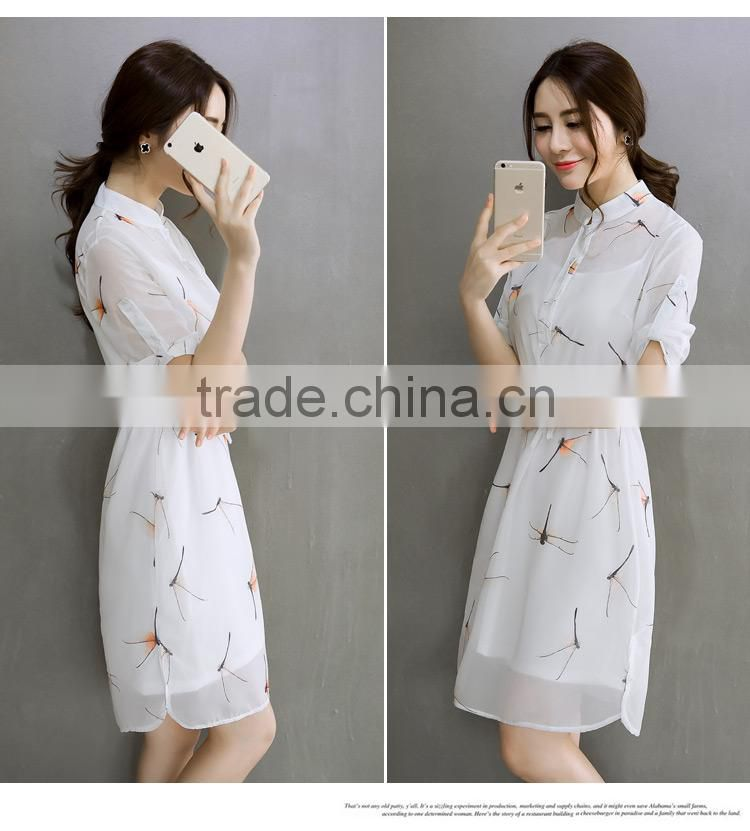 direct factory summer women long dress chiffon new style women clothing dress