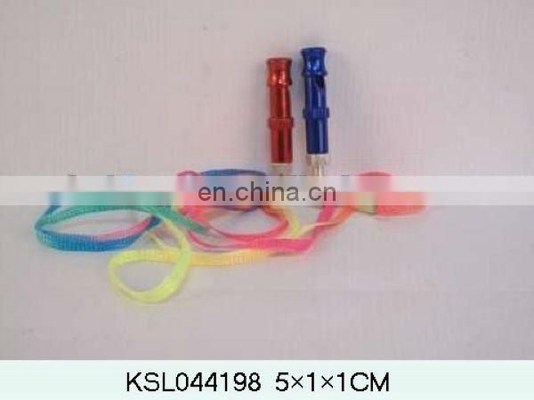 colorful cheap plastic whistle