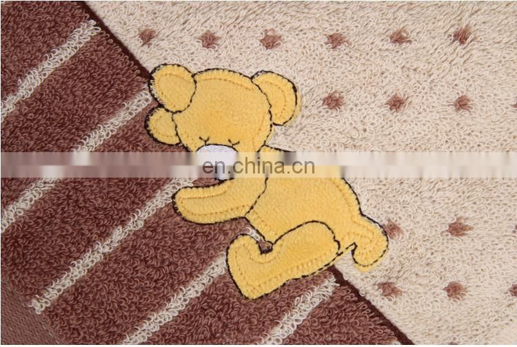 100 cotton towels soft and comfortable bear children pillow towels