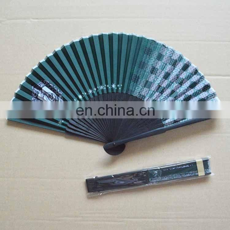 Japanese Durable Nylon Folding Hand Fan