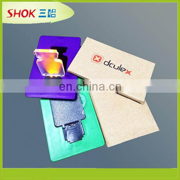 Fashion gifts Led Card Light card skimmerled card light
