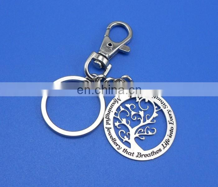 wholesale custom company logo souvenir gift metal keychain with soft enamel