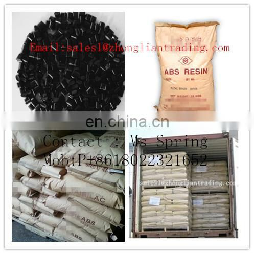 Plastic Raw Materials acrylonitrile butadiene styrene pc / abs resin price