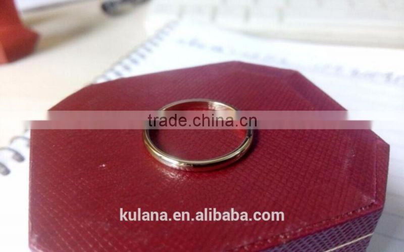 Wholesale titanium steel engagement ring gay men ring small finger ring