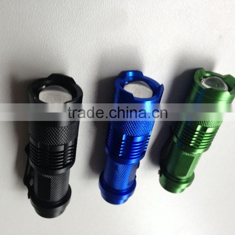 led flashlight Zoom LED Flashlight tactical flashlight aluminium led falshlight