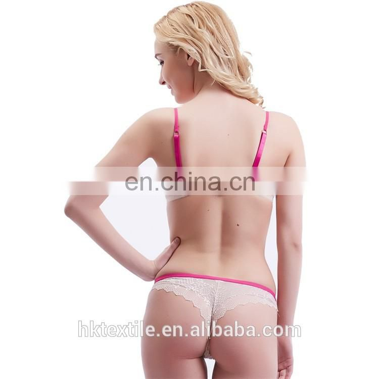 High quality transparent sexy bra set underwear transparent underwear