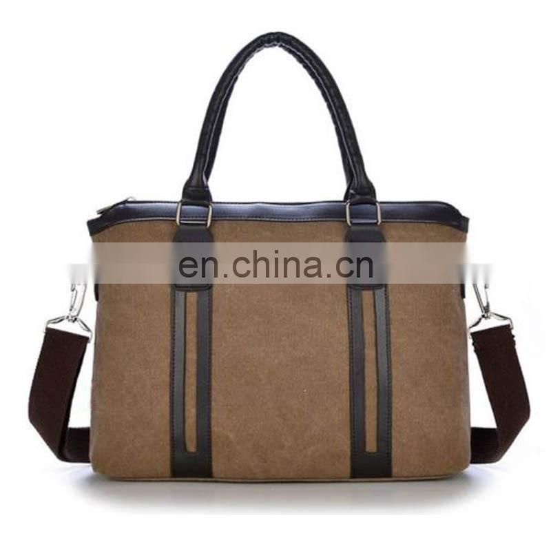 Canvas shoulder messenger bags wholesale handbag tote bag