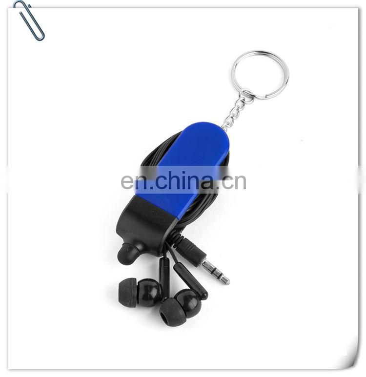 promotion EarBud holder Stylus Keychain
