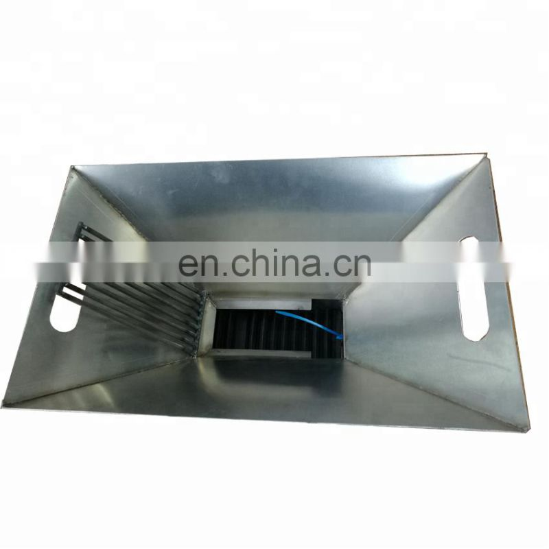 Chinese placer gold separator wet pan gold mill