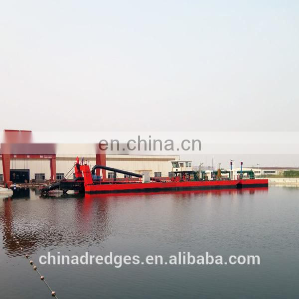 River Cutter Head Sand /Mud Dredger Vessel Image