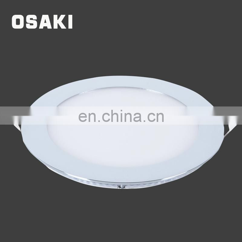 Modern indoor wide angle surface suspended 6w 9w 18w multi color led flush mount ceiling light