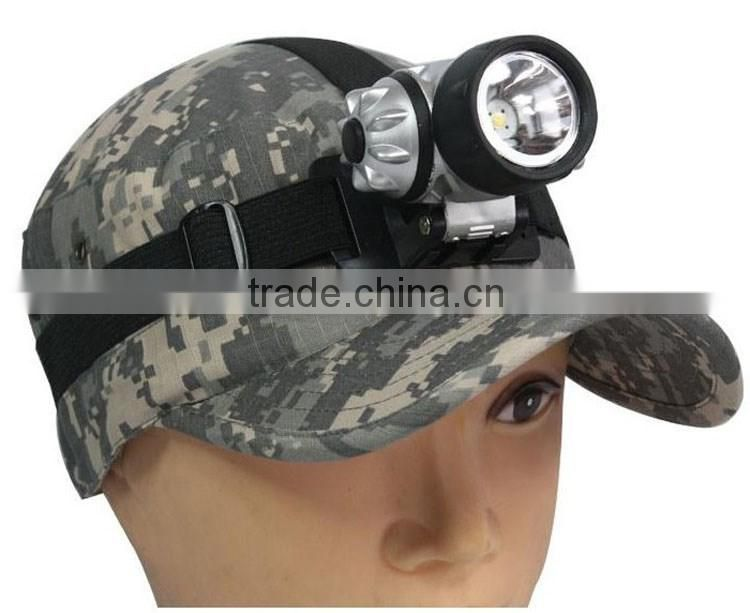 Outdoor 1W high beam fishing camping led head light