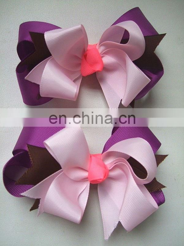 handmade satin ribbon hair ties