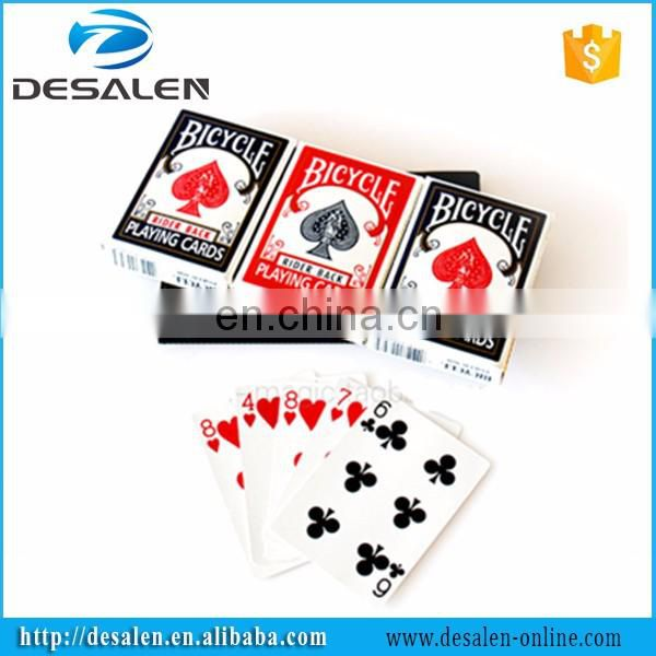 Bicycle card changeable the card deck box amazing prediction magic props magic tricks