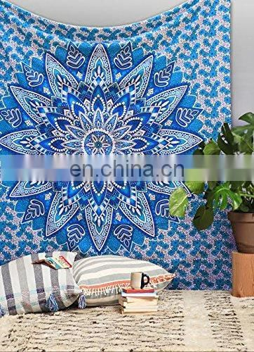 Mandala Tyi dyed single bed sheet SSTH#564