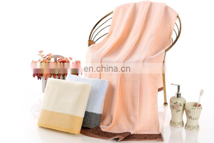 New Arrival High Quality Plain Dyed Cotton Beach Blanket Towel