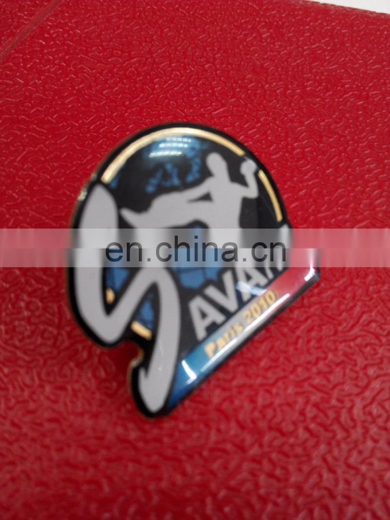 Sark Lapel Pin Badge Engraved Personalised Box
