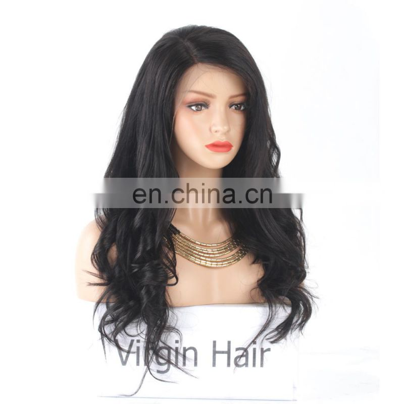 Human hair wigs lace front side part lace front wig