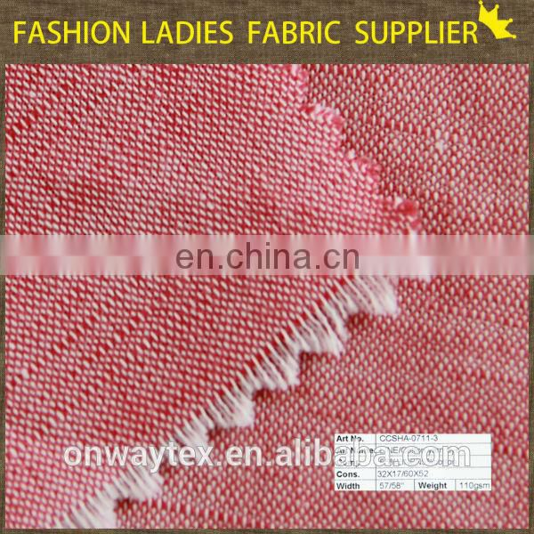 high quality cheap polyester linen viscose blend fabric