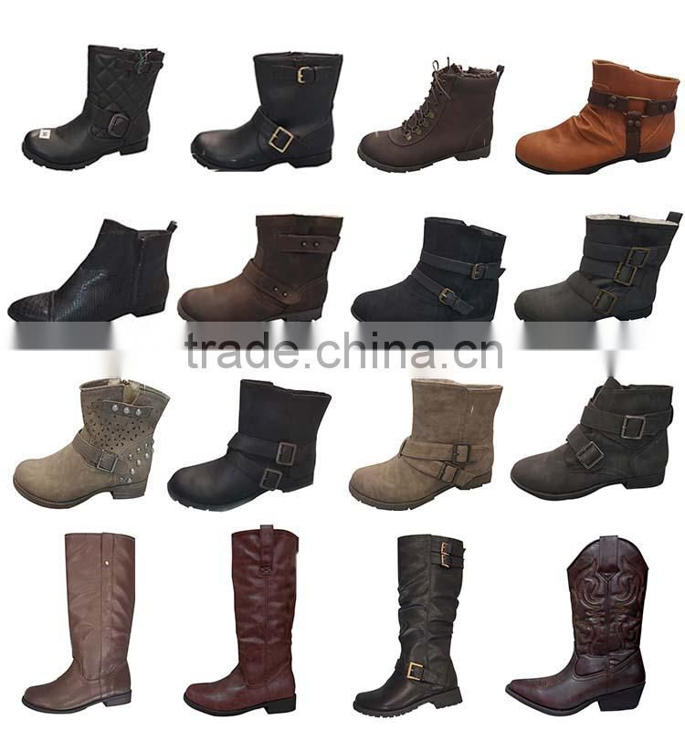 2015 New Arrival Soft Comfort Women Fashion Military Boots