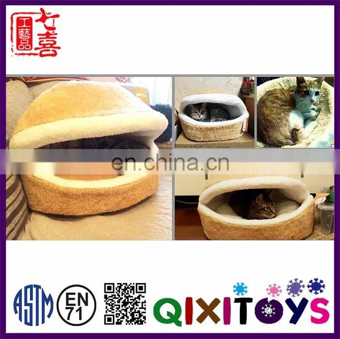Wholesale power cat house indoor cat plush soft house