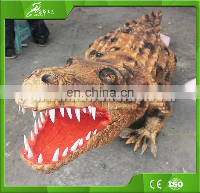 KAWAH Theme Park Animatronic Mechanical Realistic Rubber Crocodiles