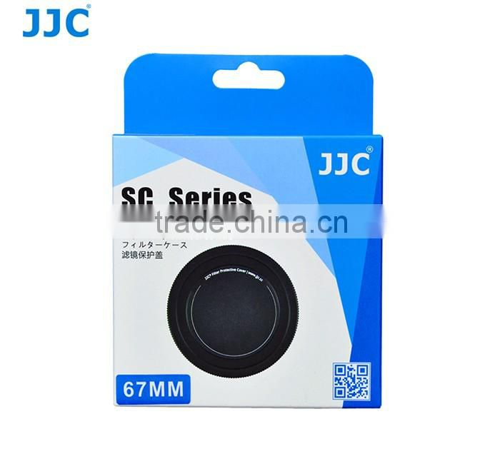 JJC Aluminium Alloy Metal Screw-in Lens Cap Filter Stack Storage Protect Filters
