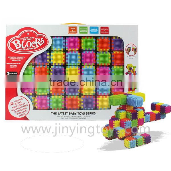 Intelligent cubic blocks toy for kids