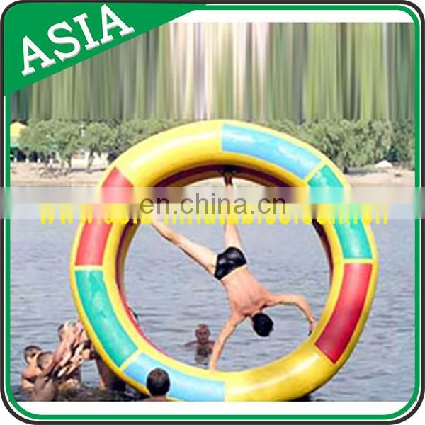 Transparent Inflatable Water roller for sports entertainment