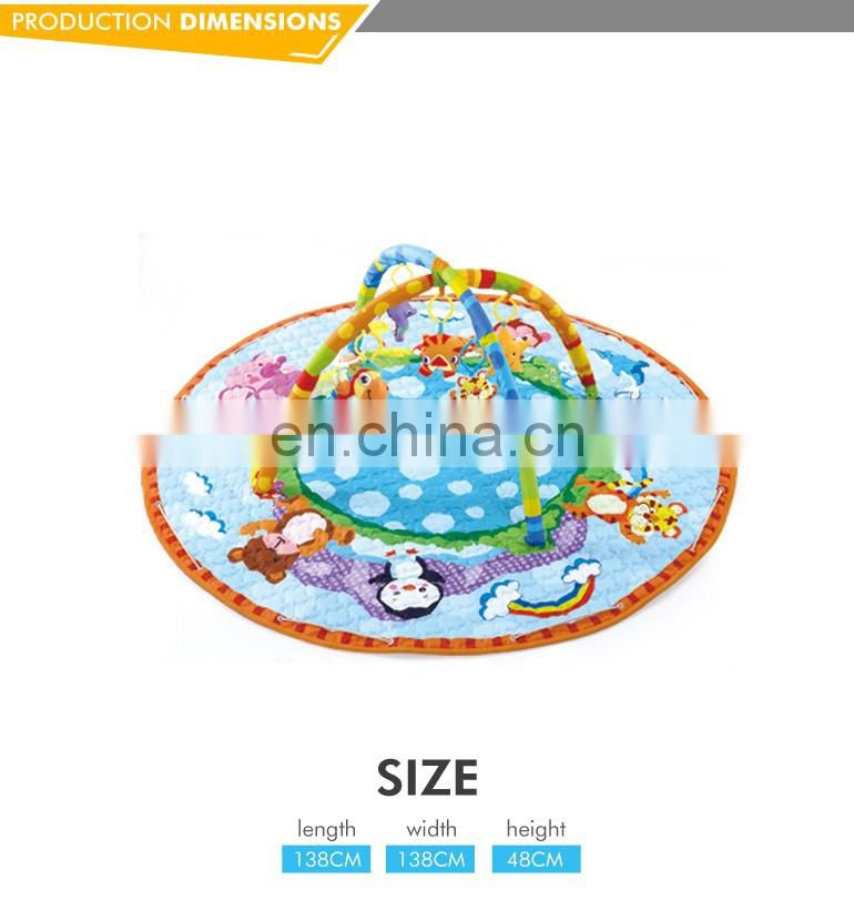 Eco-friendly colorful high quality sleeping big pvc baby play mat