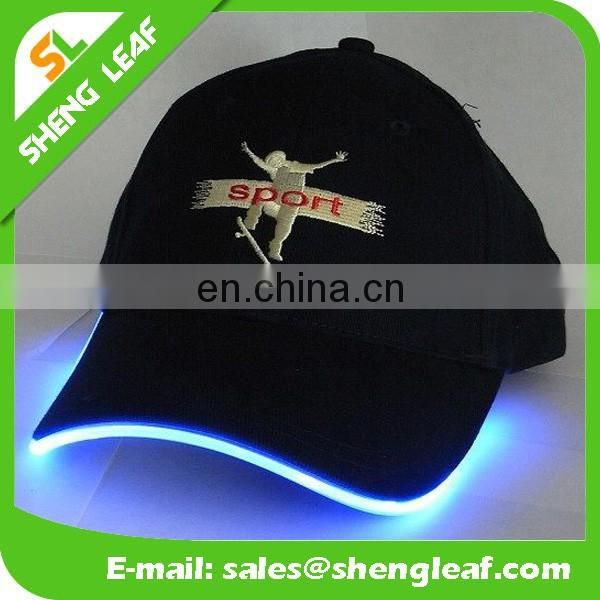 2016 promotional high quality led snapback caps