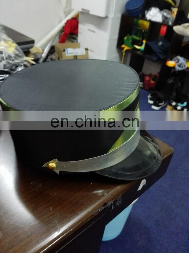 Wholesale military uniform cap/doorman cap