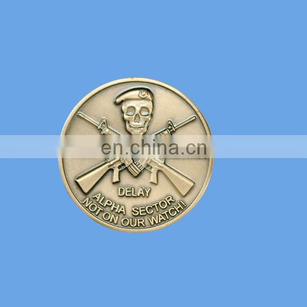 custom design silver coin