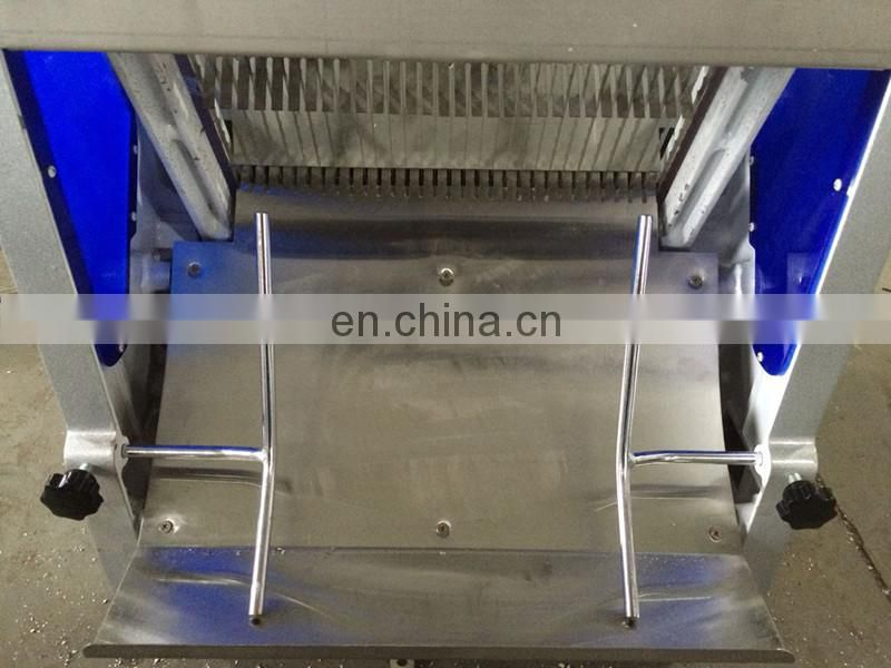 Automatic bread slicer and toast slicing machine