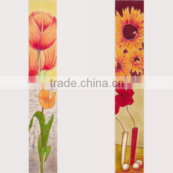 Fancy picture factory price glazed ceramic tiles painting