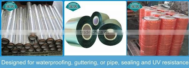 100mm width reinforced self adhesive flash band