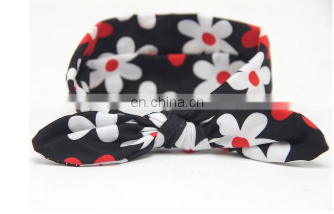 Bandanna Flora Headwrap Baby Knotted Headwrap Top Knot Turban Headband For Baby Shower Gift