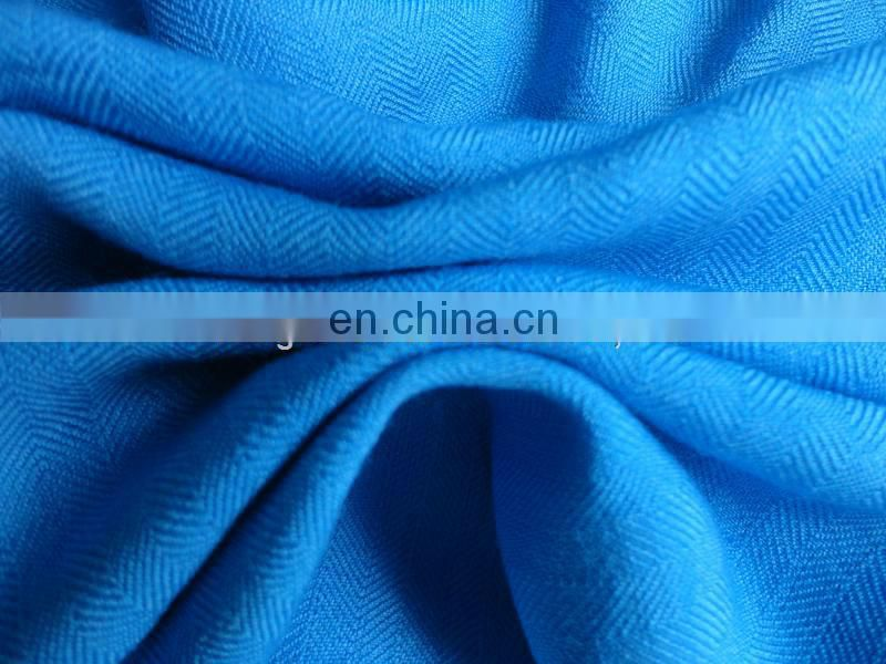 Worsted woven wholesale silk wool fabric
