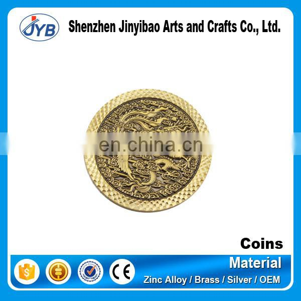 wholesale custom design cheap challenge metal coins