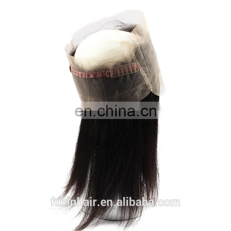 Unprocessed remy human hair Brazilian straight hair extension