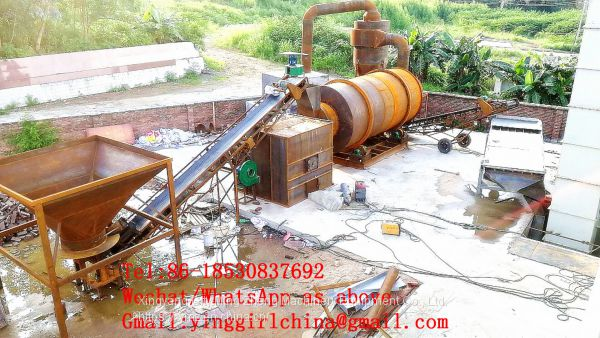 large capacity 20T/H sand drying machine, silica sand dryer, river sand dryer price Image
