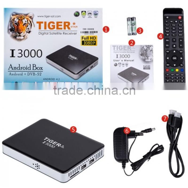Best Digital Satellite I3000 IPTV box Receiver 2015 for Digital TV Headend  Best HD Satellite Receiver