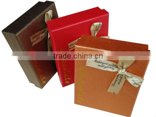 leco-friendly elegant paper gift box