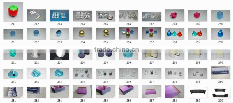 plastic parts spray paint / UV coating