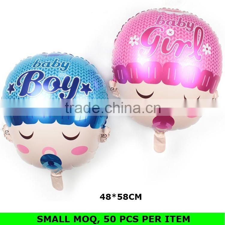 Hot Sale Baby Birthday Decoration Animal Shaped Foil Balloons Wholesale