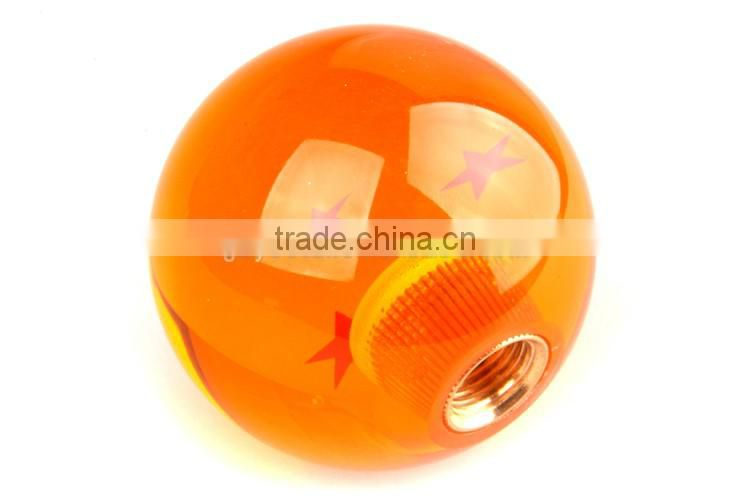 Dragon Ball Z shift knob with black adapter kit 3 star