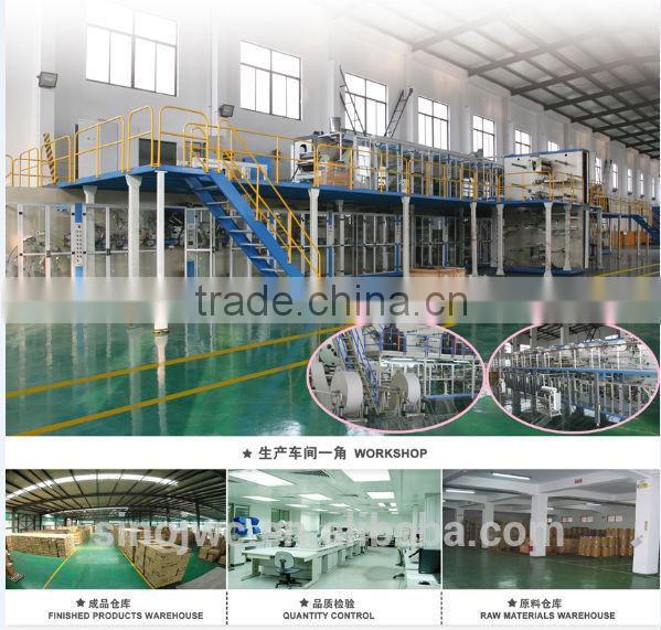 Automatichigh quality sanitary napkin machinery equipment manufacturer